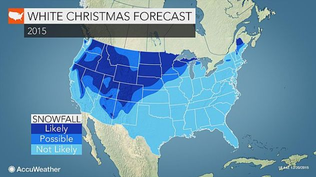 White Christmas Forecast.White Christmas Forecast Majority Of Eastern Us To Be