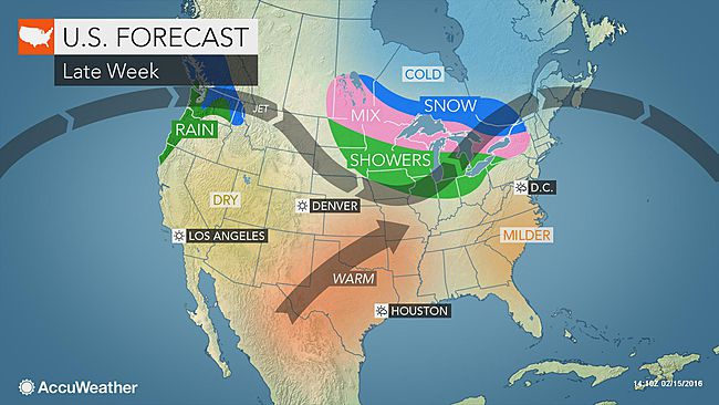 Detroit: Mild air to return by Friday | AccuWeather