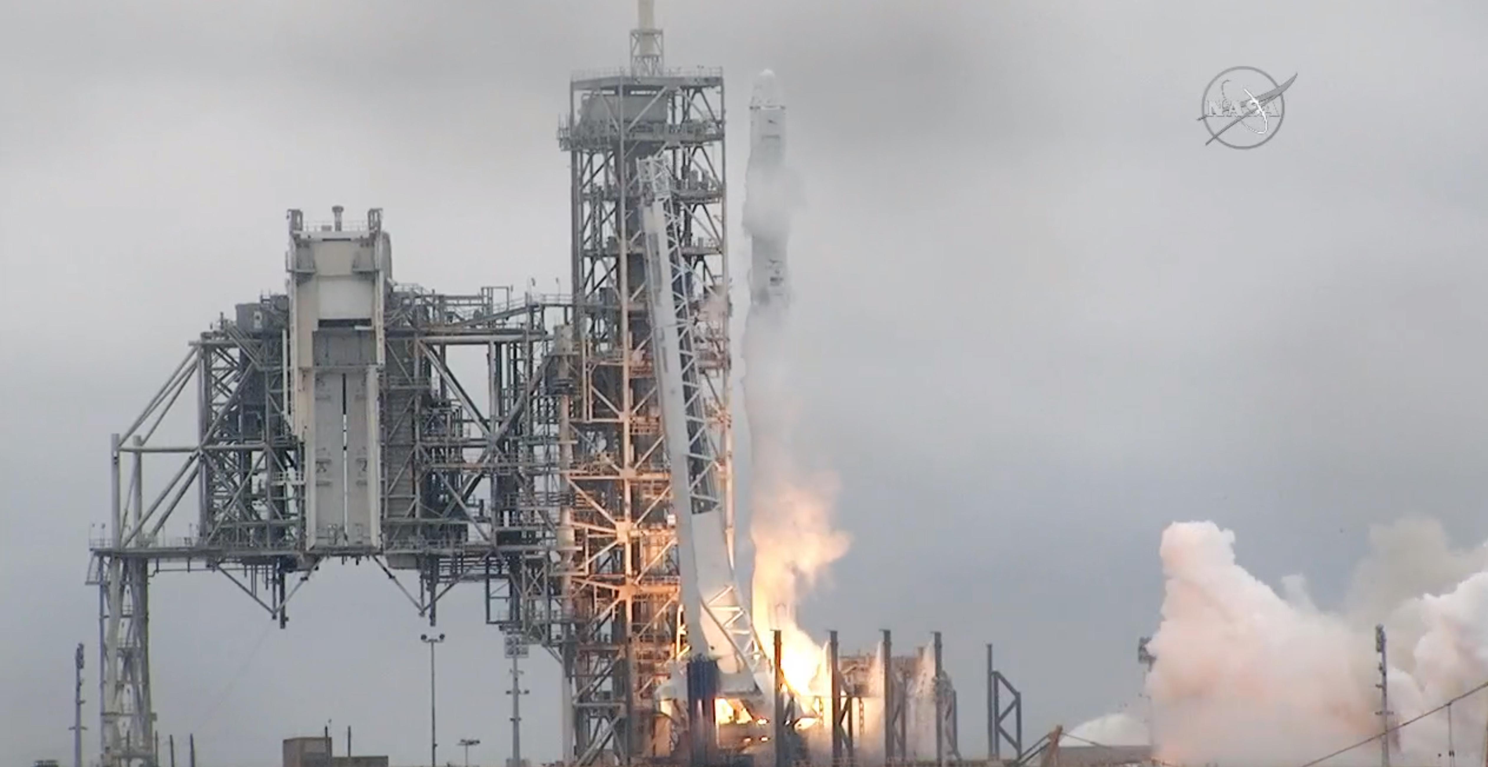 SpaceX, NASA celebrate historic successful rocket launch