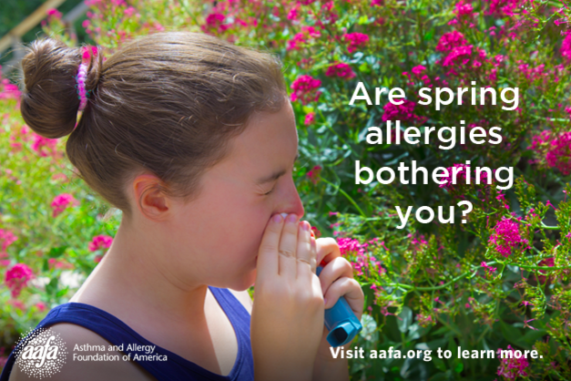 Tips for coping with spring allergies