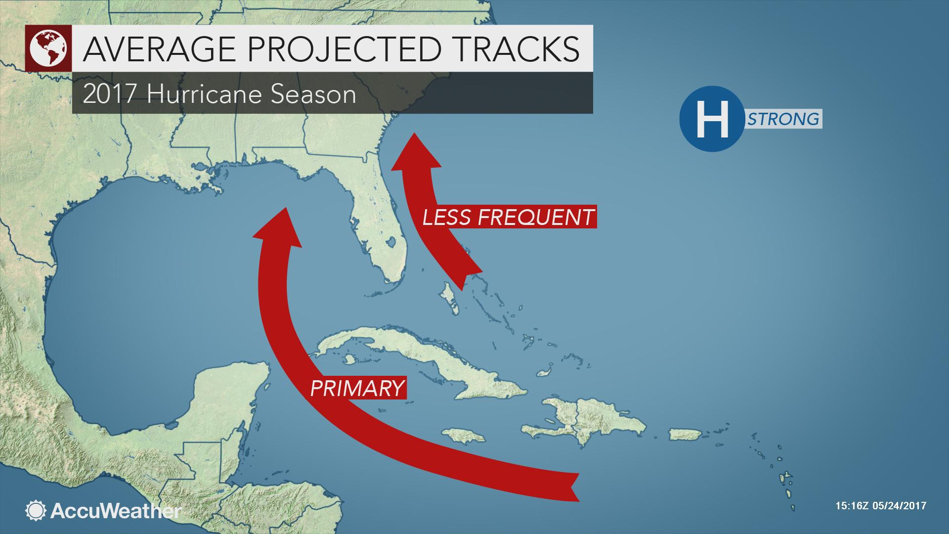 2017 Atlantic hurricanes to pose threat to southeastern US ...