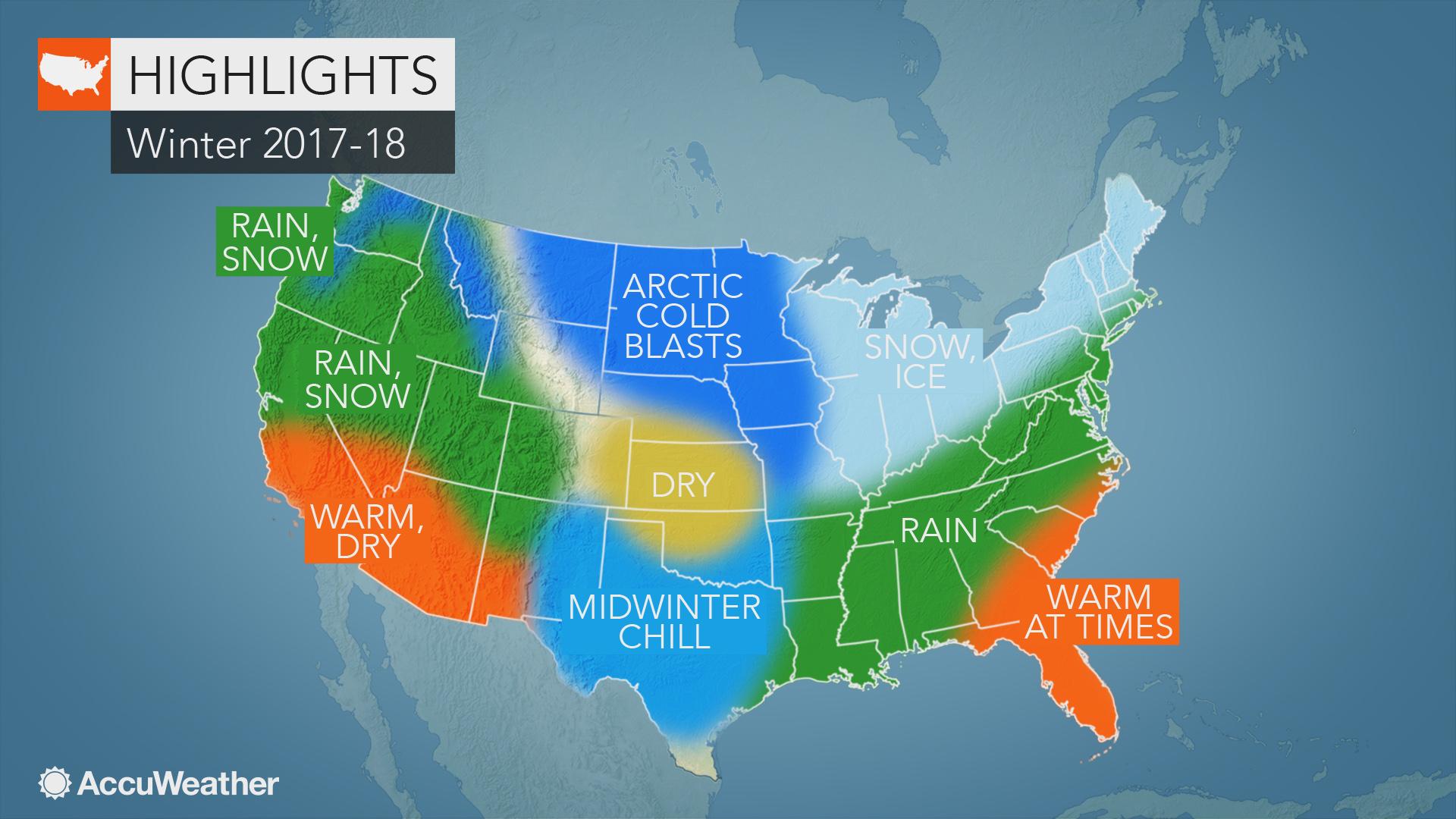 US winter forecast: La Niña to fuel abundant snow in Rockies