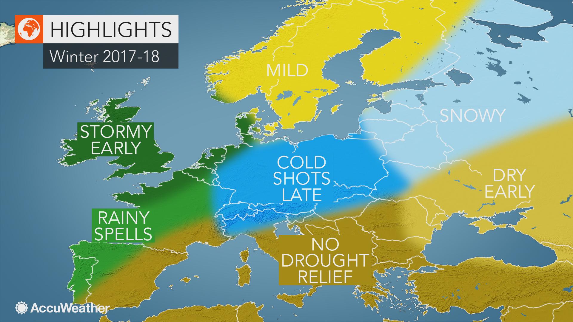 Αποτέλεσμα εικόνας για accuweather winter forecast europe