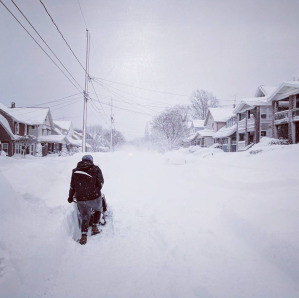 Photos: Record-breaking 60-inch snowfall blankets Erie