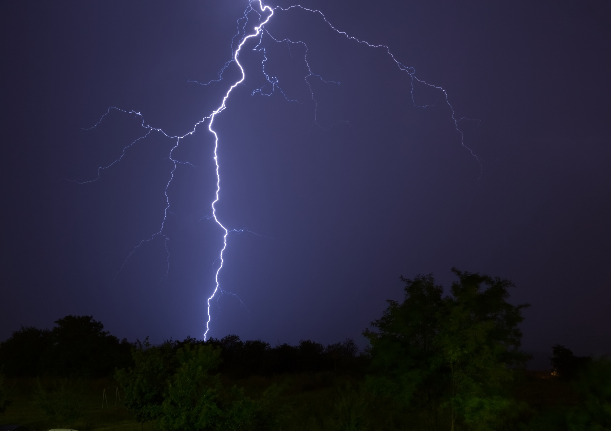7 lightning safety tips if you're caught outside during a