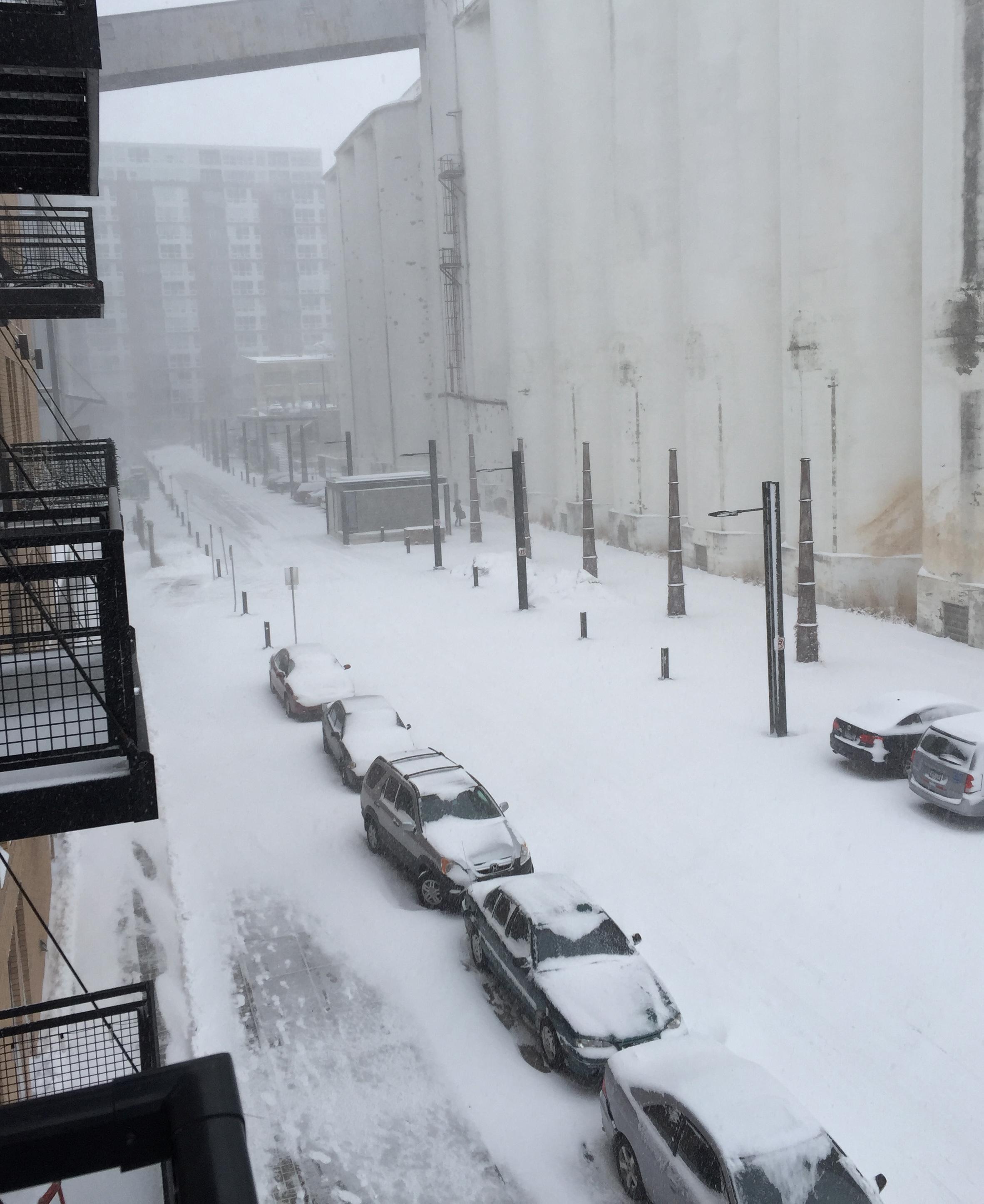 Photos: April blizzard sets snowfall records in Minneapolis