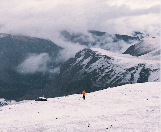 Photos: Summer snow blankets mountains across the Pacific