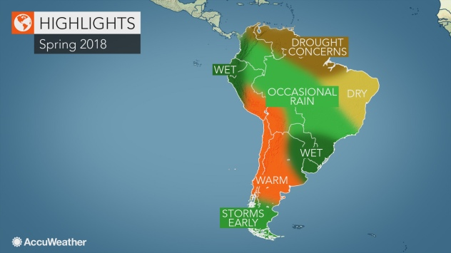 2018 South America spring forecast: Drought may worsen ... on major rivers in south america, map of northern ca wine country, map of northern east coast usa, map of north america natural resources, topography of northern south america, northern part of south america, map of north america without labels, map of latin america, map of northern lebanon, map of the northern america, political map of america, map of northern fiji, map of northern adriatic, map of northern ukraine, map of eastern north america, map of northern jordan, map of central america, map of northern south carolina, map of northern european rivers, map of northern wisconsin,