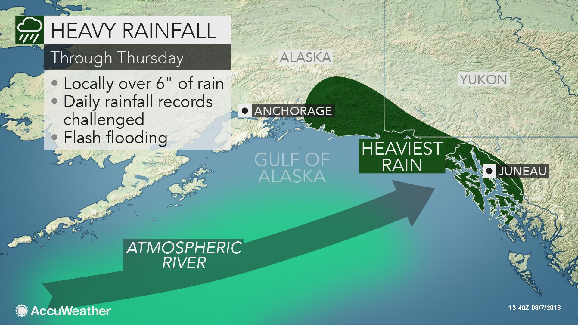 Autumnlike storm to bring torrential rain and flood risk to ...