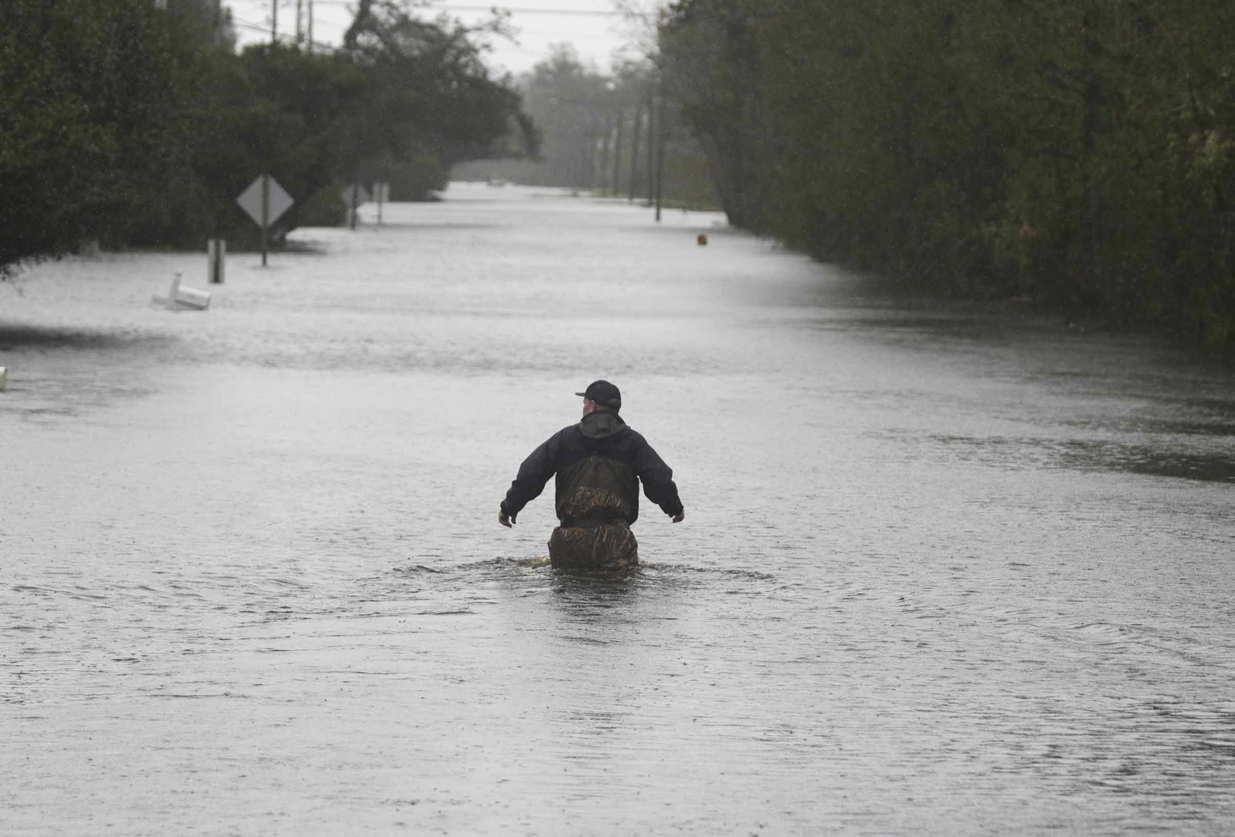Reports: Wilmington among communities cut off by floodwaters