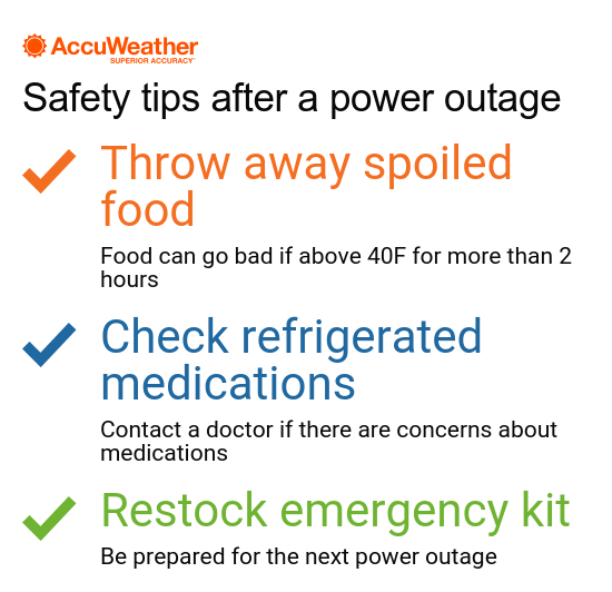 How to stay safe when a hurricane causes power outages