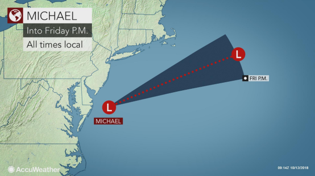 Flooding, strong winds from Michael to rip a path of damage