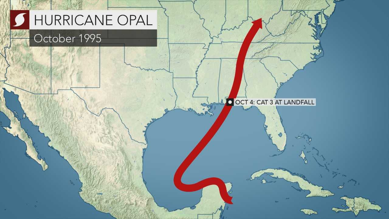 Coastal Impact Damage From Michael May Be Much Worse Than Opal In 1995 And Eloise In 1975 Accuweather