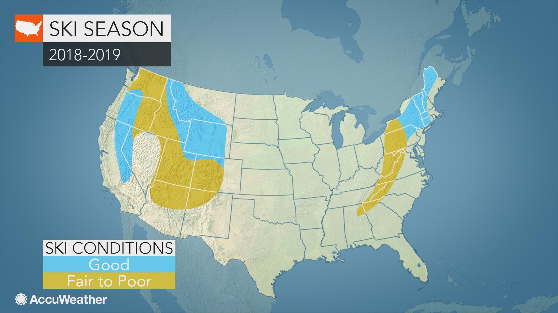 US ski season forecast: Here\'s where you\'ll find the best ...