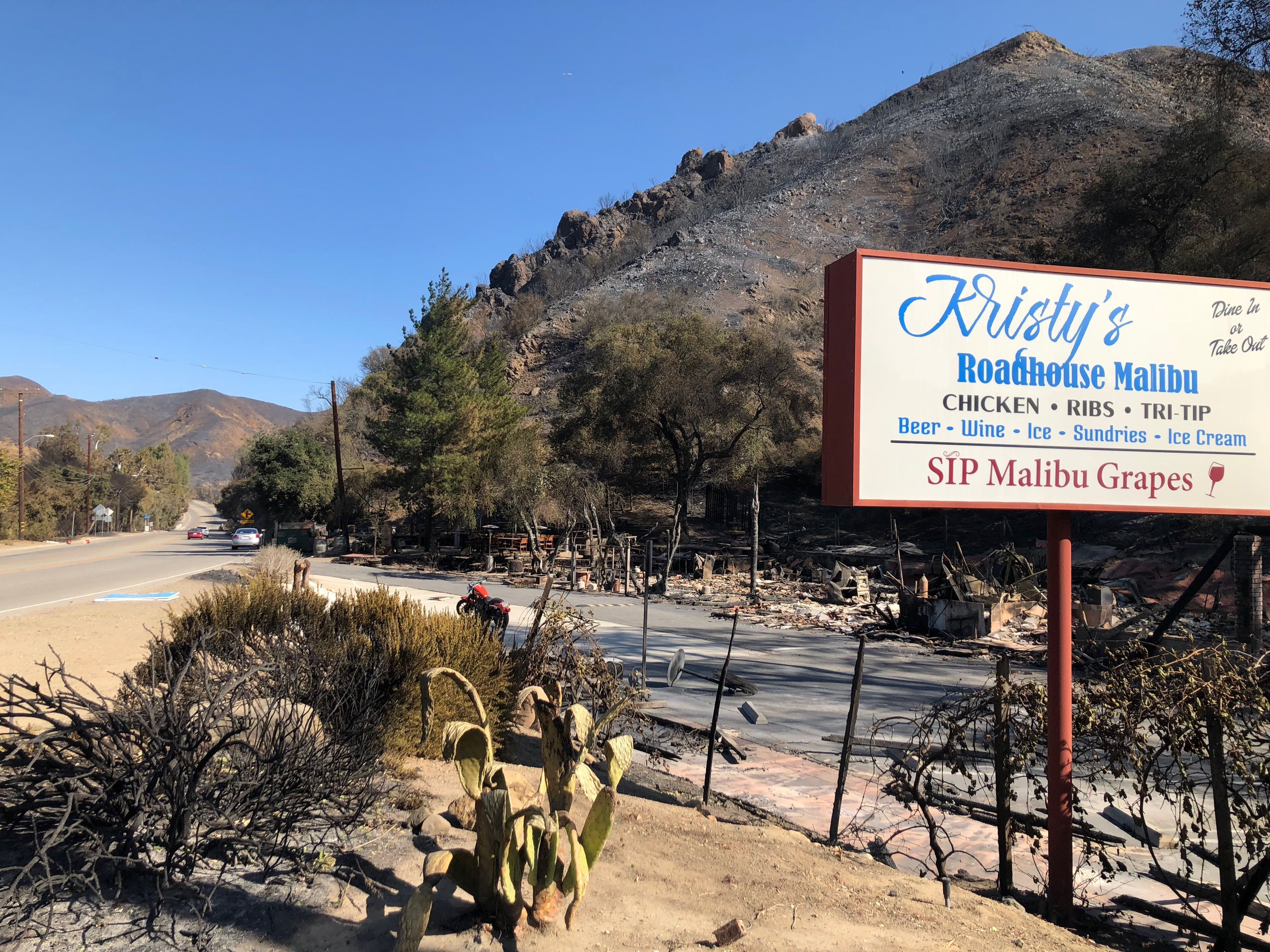 Evacuations remain for Malibu, 2 found dead as Woolsey Fire