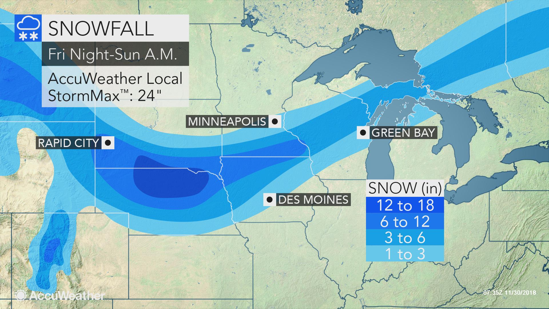 2nd blizzard of season to eye north-central US during 1st ... on west north central states, map of kansas, east coast of the united states, map of philippines, south central united states, map of united kingdom, map of central america, map of illinois, northwestern united states, map of europe, map of mid united states, map of west central united states, west south central states, map of chicago, map of uk, map of western, pacific states, eastern united states, map of colorado, map of eastern, map of far west, map of north central united states, southeastern united states, map of singapore, map of south, map of texas, map of se, united states of america, map of history,