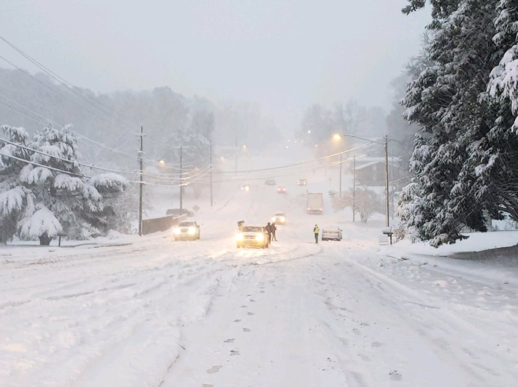 Reports: Over 500 accidents reported in North Carolina as