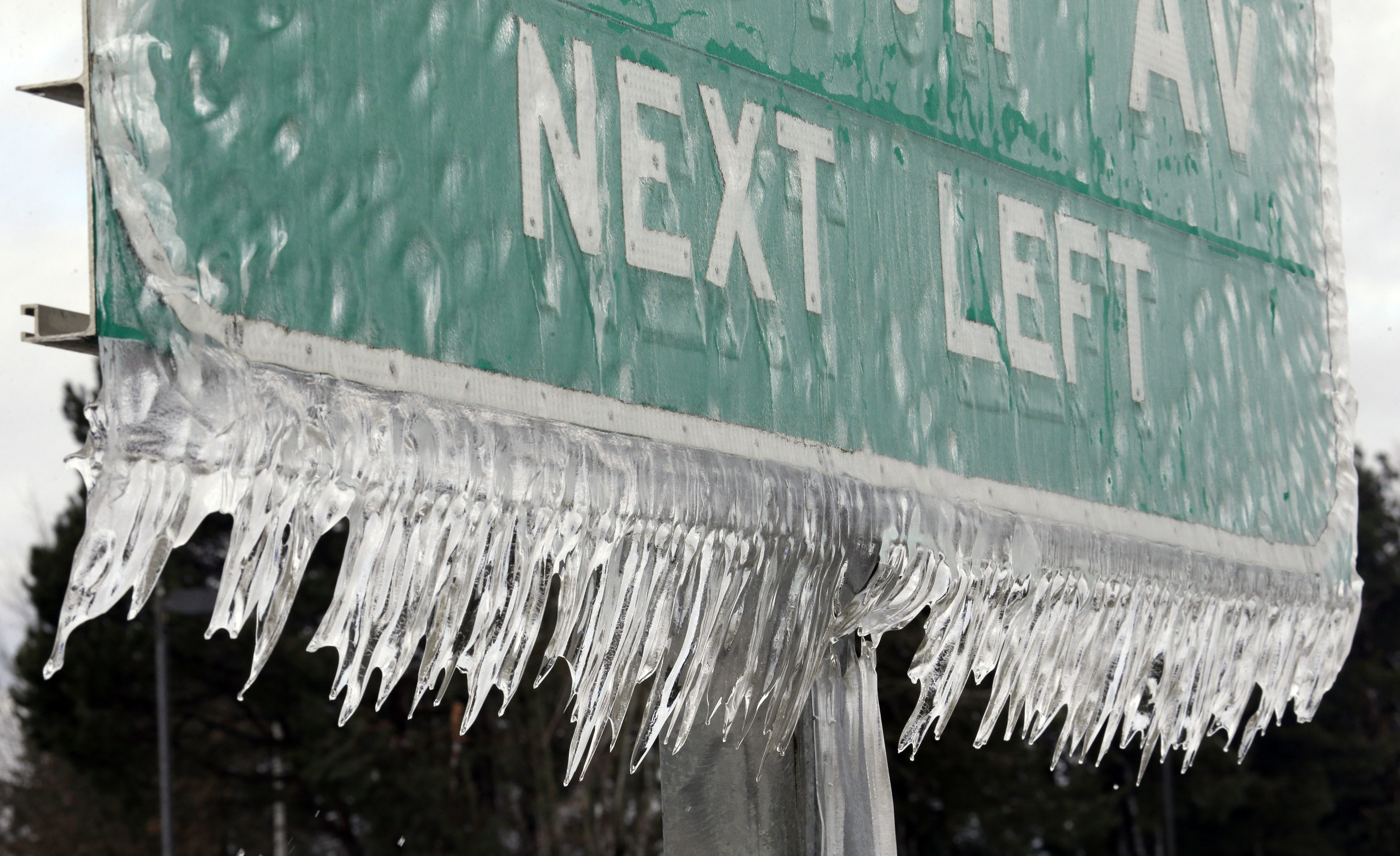 What is the difference between freezing rain, sleet, snow