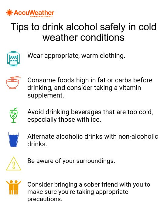 How Drinking Alcohol Makes You Vulnerable In Cold Weather   AccuWeather
