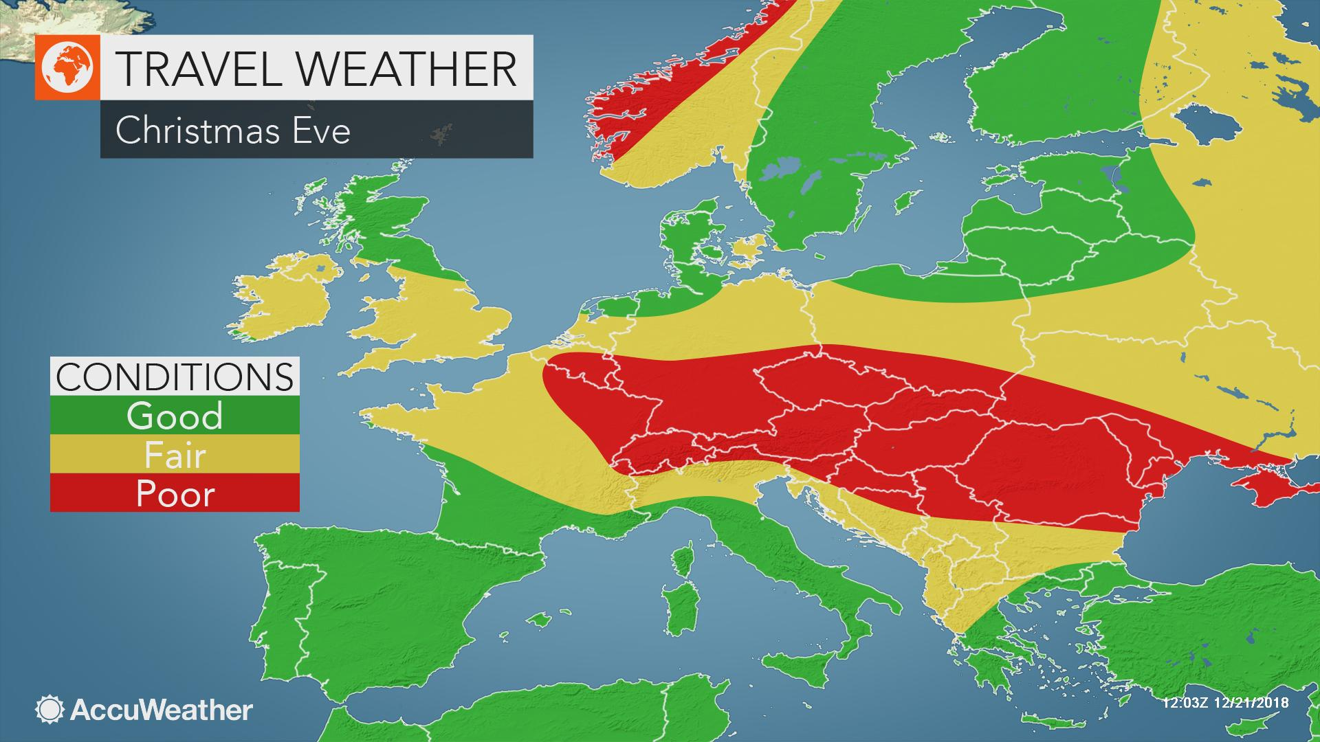 Christmas In Europe Wallpaper.Christmas Outlook Stormy Weather To Bring Travel Hazards