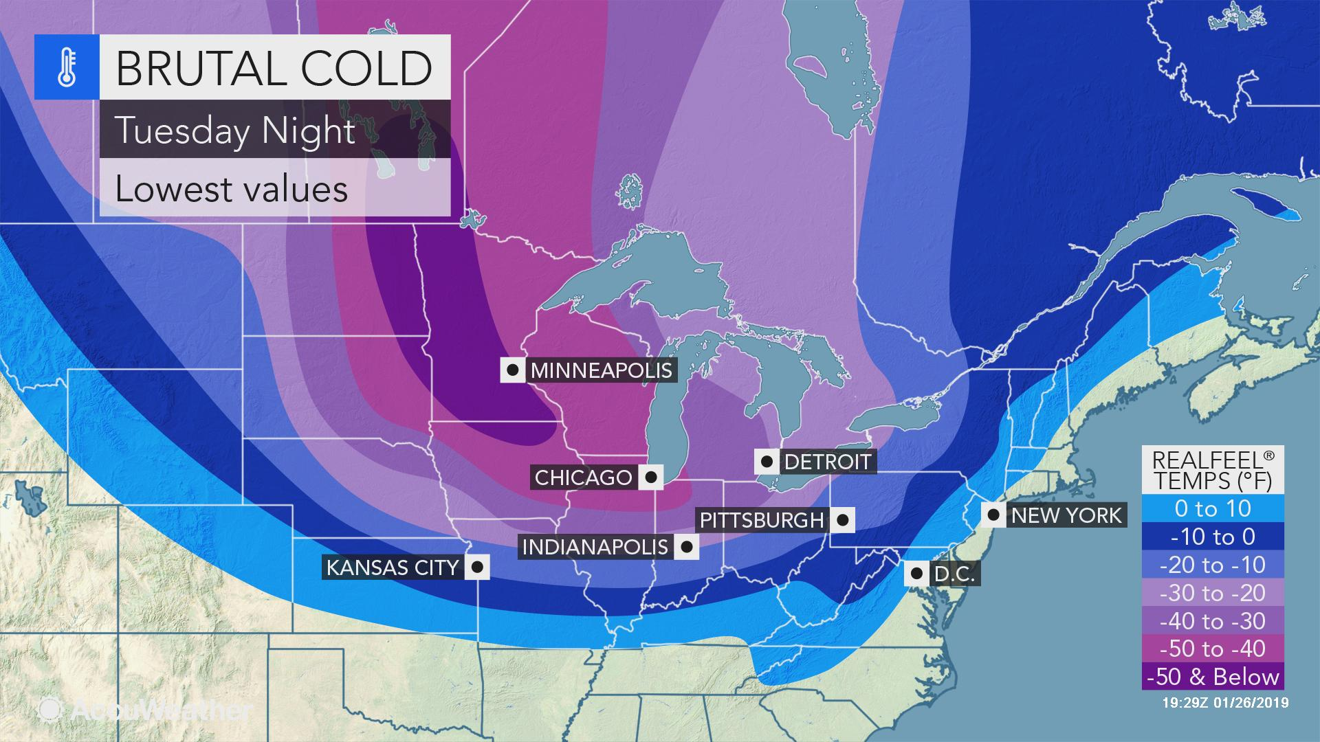 Midwestern US braces for coldest weather in years as polar ...