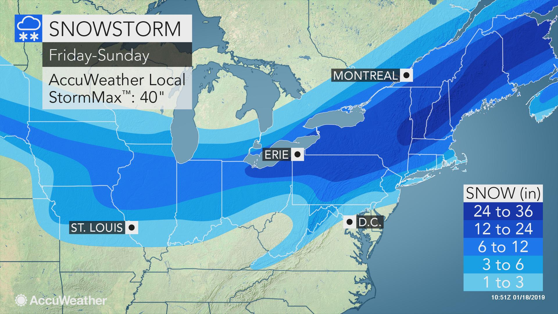 Immobilizing blizzard with feet of snow looms for interior