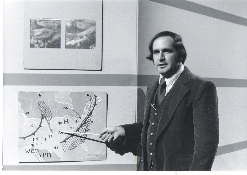 Meet the man behind the mic: American weather icon says
