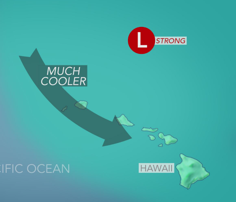 1 dead as powerful Kona low slams Hawaii with high winds