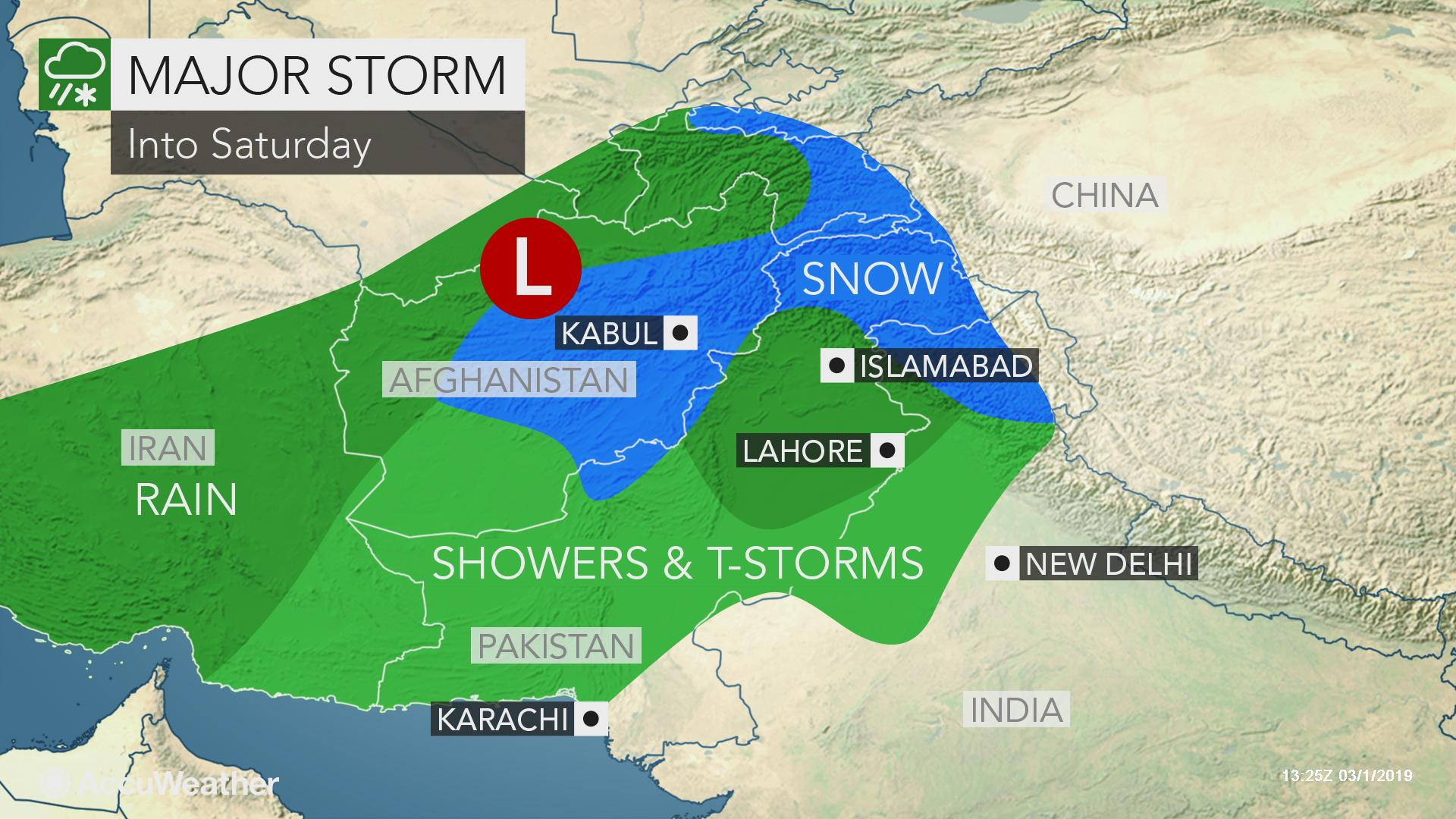 India, Pakistan brace for more flooding, mountain snow as