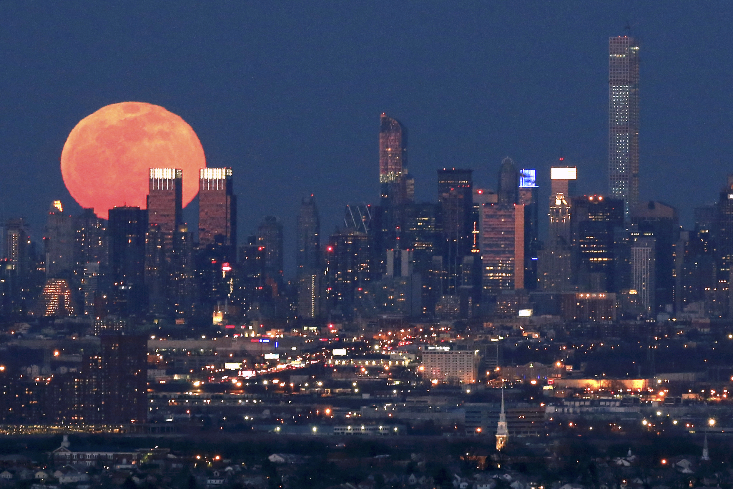 How April's full moon earned its Pink Moon nickname