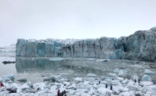 breiamerkurjokull glacier.36.1620PM - Icelandic Noir