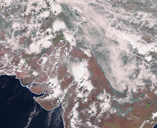 Northern India, Pakistan at risk for dust storms, damaging winds