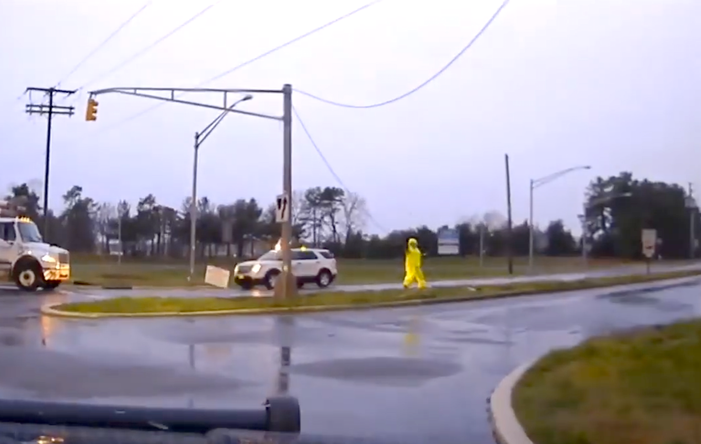 Utility worker 'narrowly escaped death' while restoring