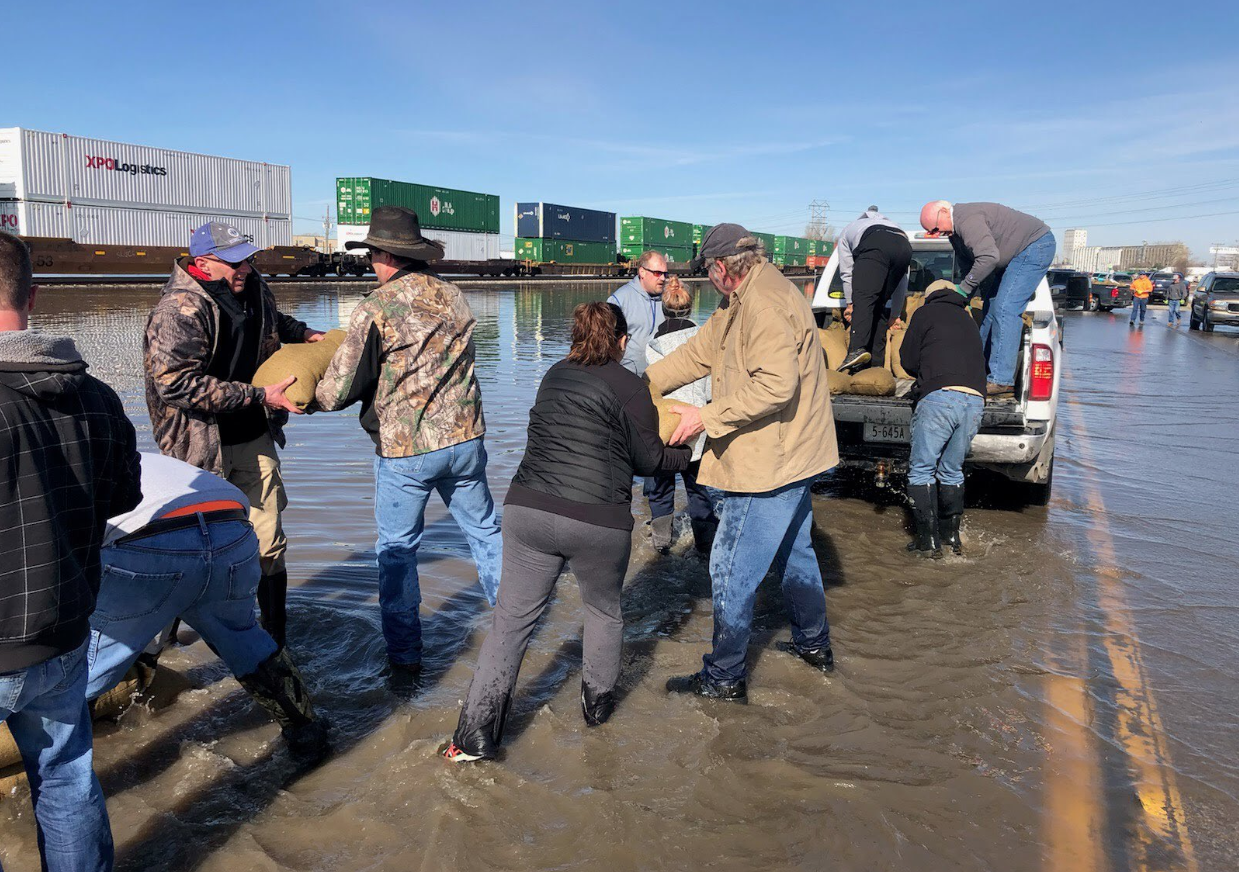 US disaster aid won't cover lost crops in Midwest floods