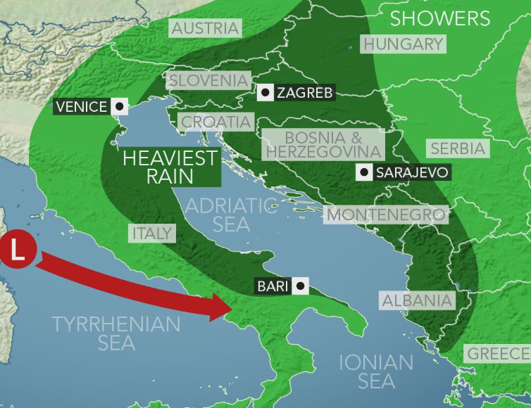 Belgrade, Belgrade, Serbia Three Day Weather Forecast ...