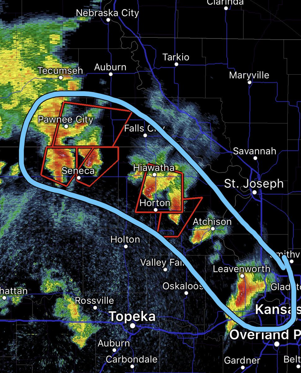Real-time severe weather updates from May 20-21, 2019