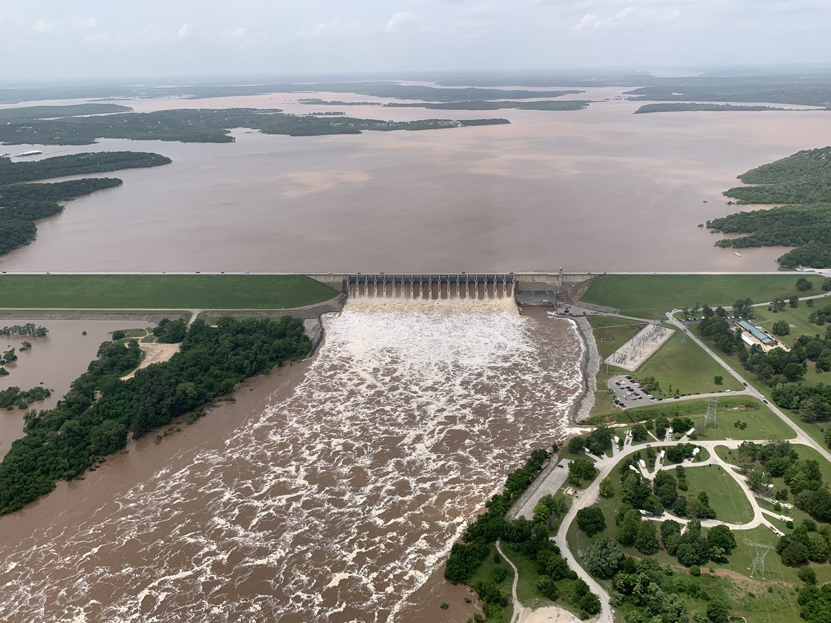 Record-breaking floods inundate parts of central US