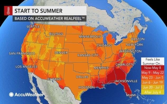 AccuWeather 2019 US summer forecast | AccuWeather