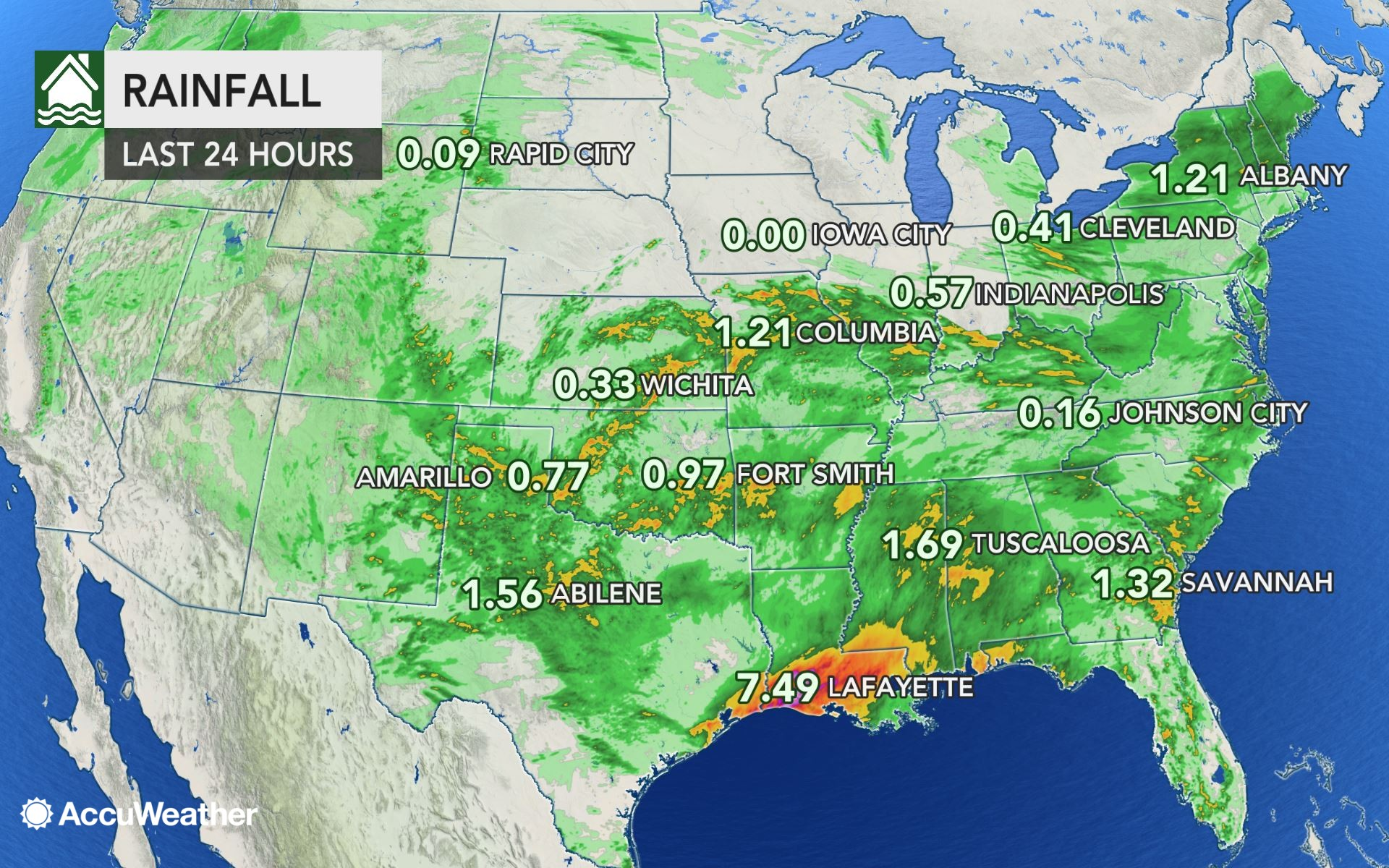 Tropical downpours unleash more than 12 inches over flood