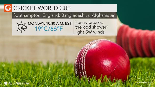 Cricket World Cup Weather May Interfere With Early Week
