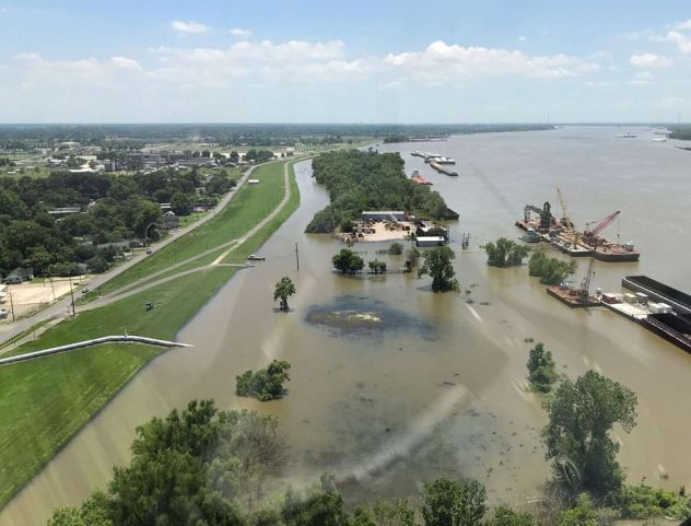 More rain during early June could push river levels higher