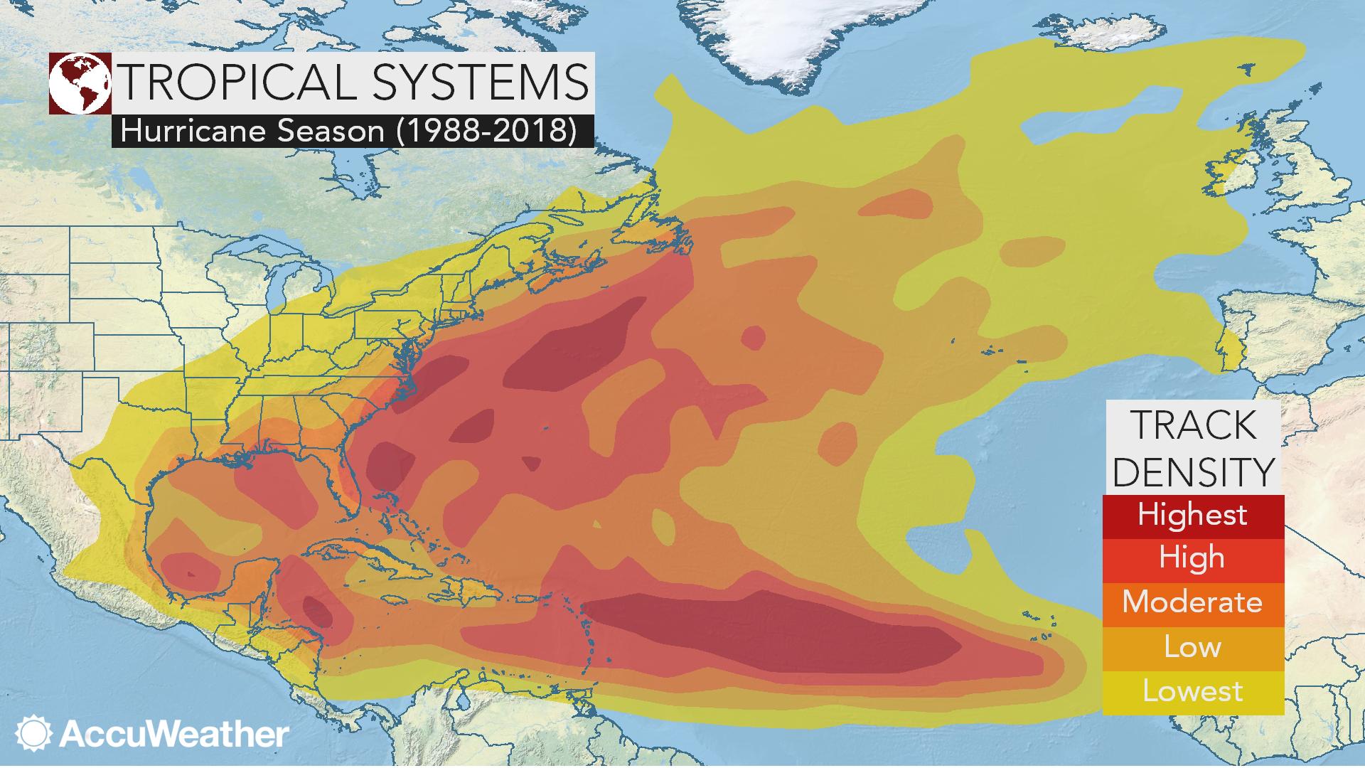 AccuWeather's 2019 Atlantic hurricane season forecast