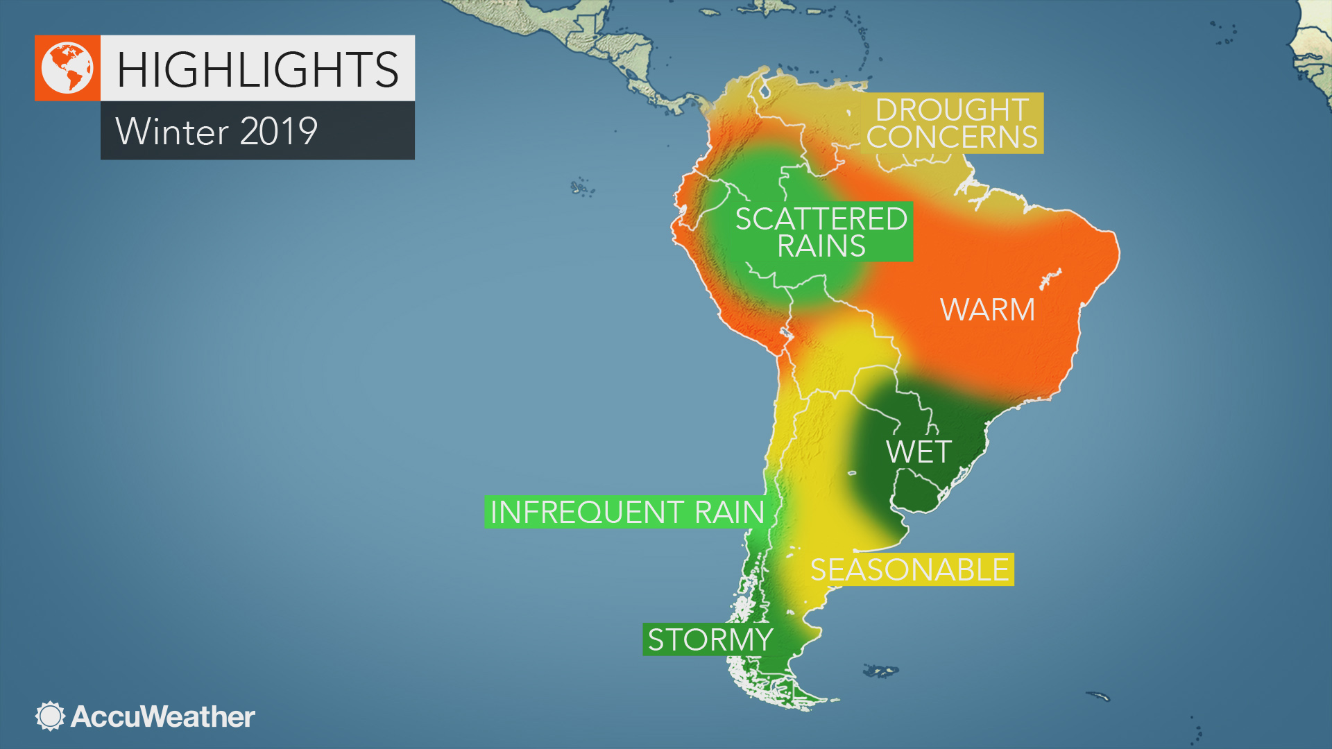 Accuweather 2019 South America Winter Forecast Accuweather