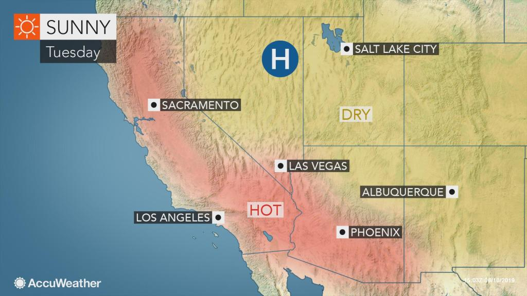 US West Coast to endure record-challenging heat this week