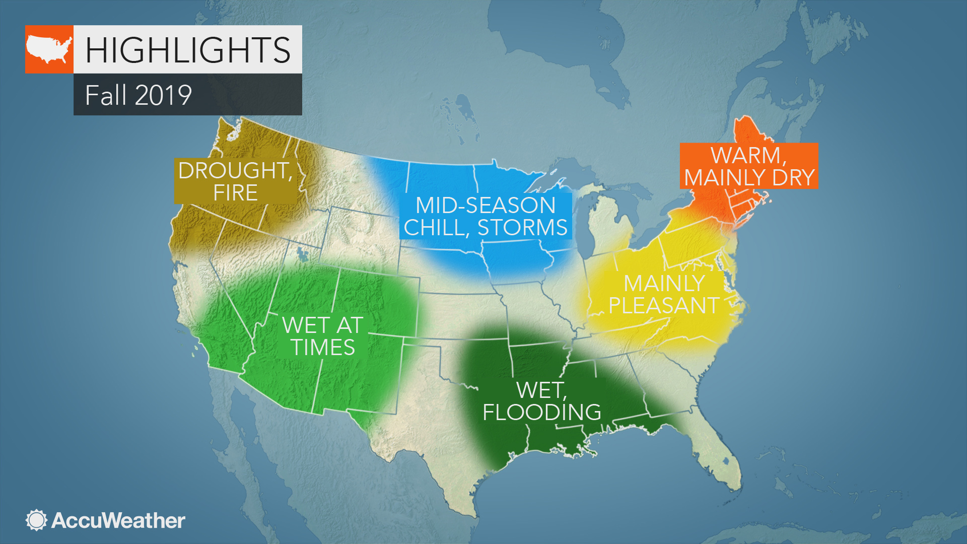 AccuWeather\'s 2019 US fall forecast | AccuWeather
