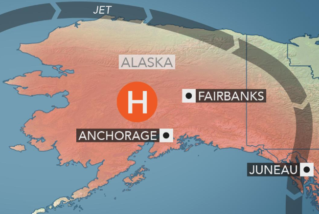90-degree heat stifles Anchorage for first time in its