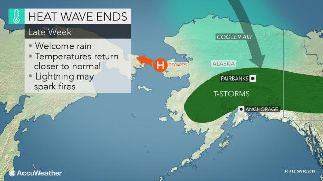 New high temperature records set in Alaska (again) as heat
