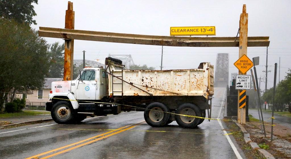 Photos: 1st hurricane landfall of the season leaves