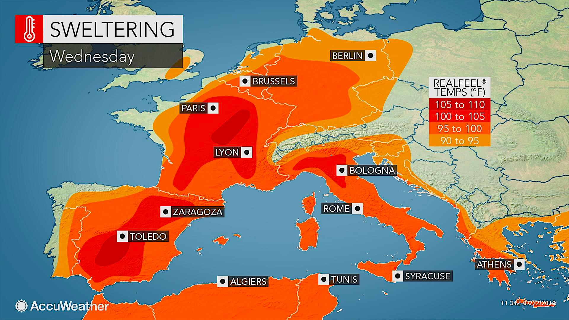 Paris Weather - AccuWeather Forecast for 75