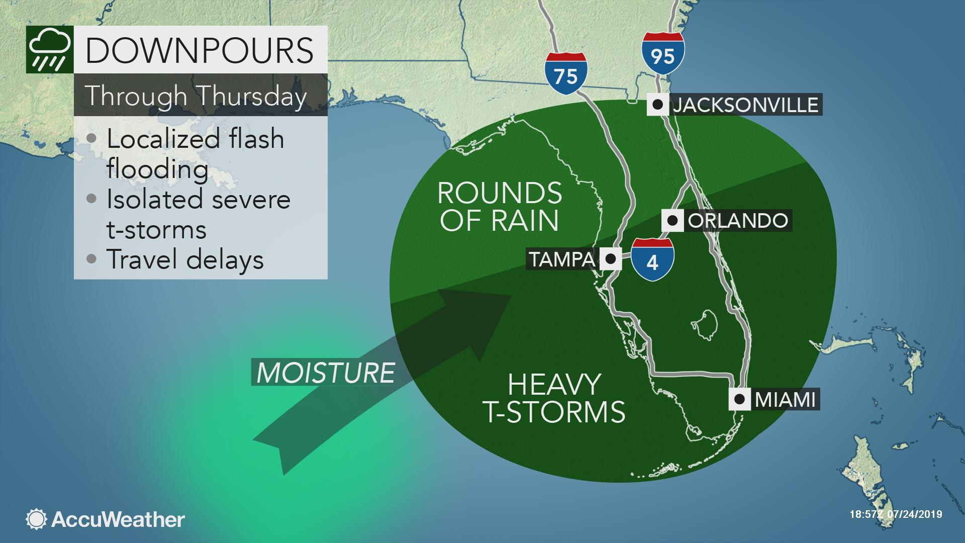 Forecasters monitoring Gulf of Mexico for potential tropical development